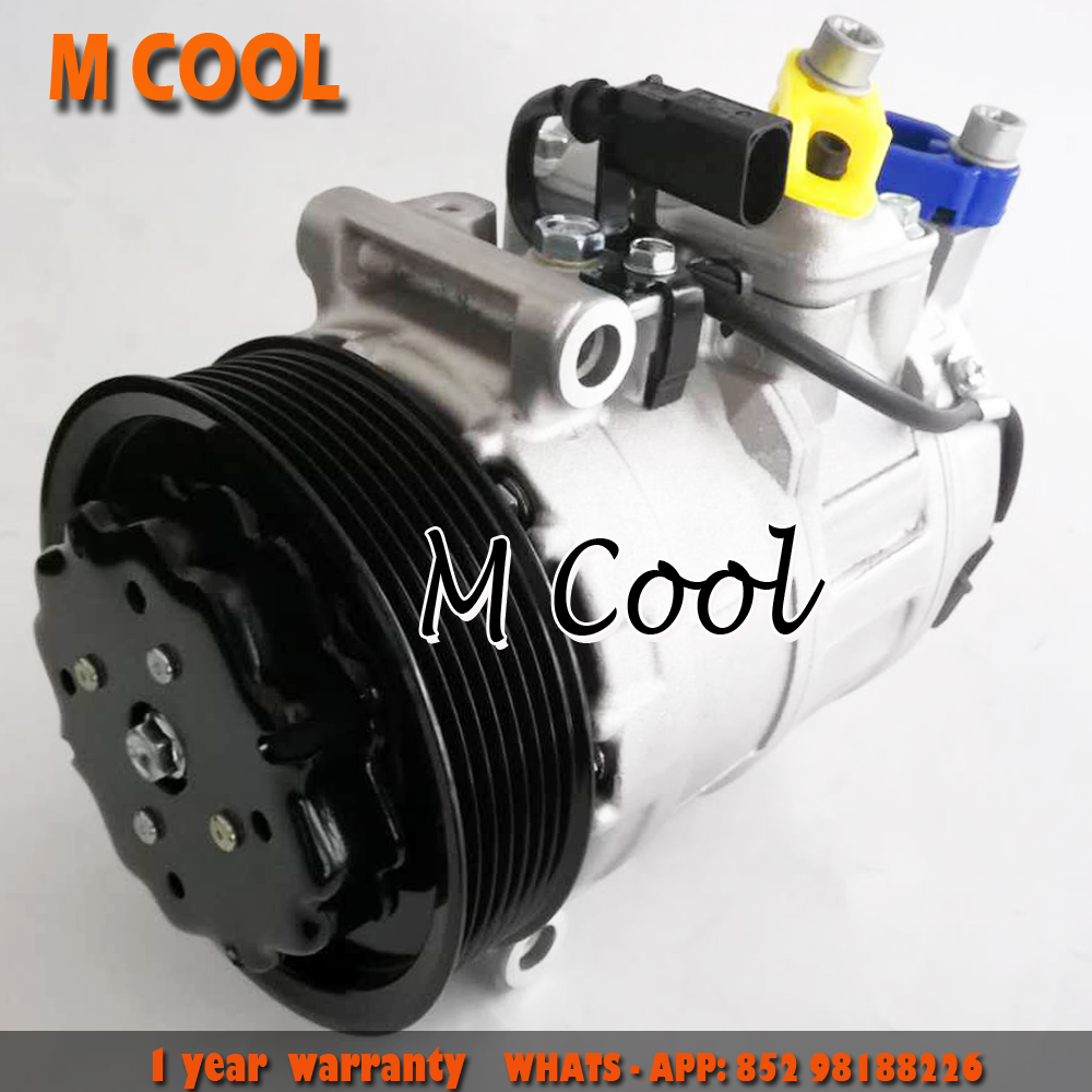 High Quality AC Compressor For Porsche Cayenne w 4 5L 4 8L Engines 2003 2015 958126014BX 95812601401 94812601100 94812601101 in Air conditioning Installation from Automobiles Motorcycles