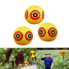 5PCS/Lot Bird Repellent Scare Eye Balloons Anti Visual Deterrent Eco-Friendly Silk-screen Animal Repeller