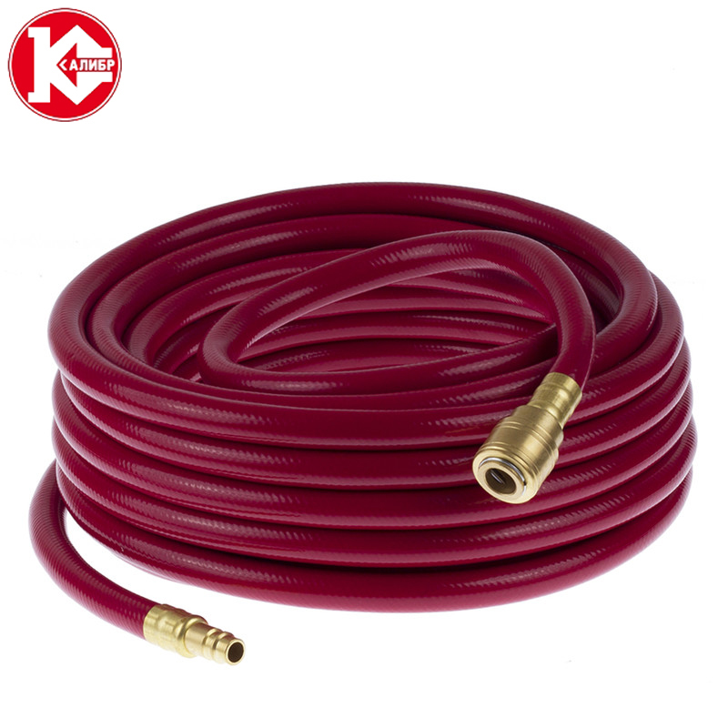 Kalibr polyurethane compressor hose 15m Polyurethane PU Air Compressor Hose Tube Pneumatic Hose portable car air compressor pump electric auto tire inflator