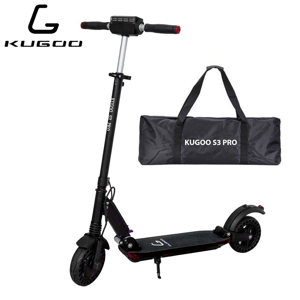 Elektrosamokat Kugoo S3 PRO Jilong original engraving on handlebar guarantee throughout Russia Electric scooter megawheels tw01s self balancing electric scooter white