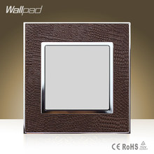 Hot Sale Wallpad Luxury Ground Lamp Goats Brown Leather Modular Ground Led Light Free Shipping(China)