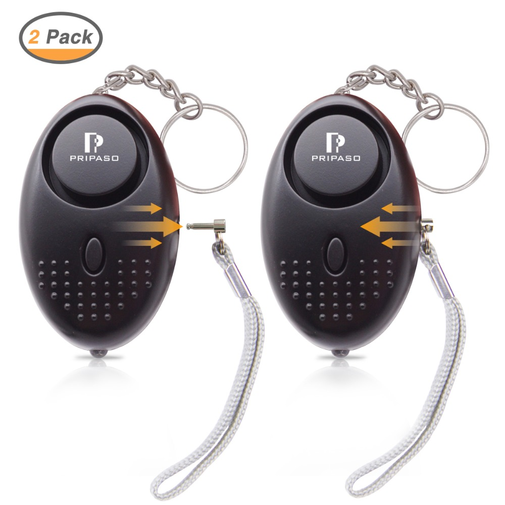 130 Db Safesound Personal Security Alarm Keychain, Safety Emergency For Women, Kids, Girls, Self Defense Electronic Device
