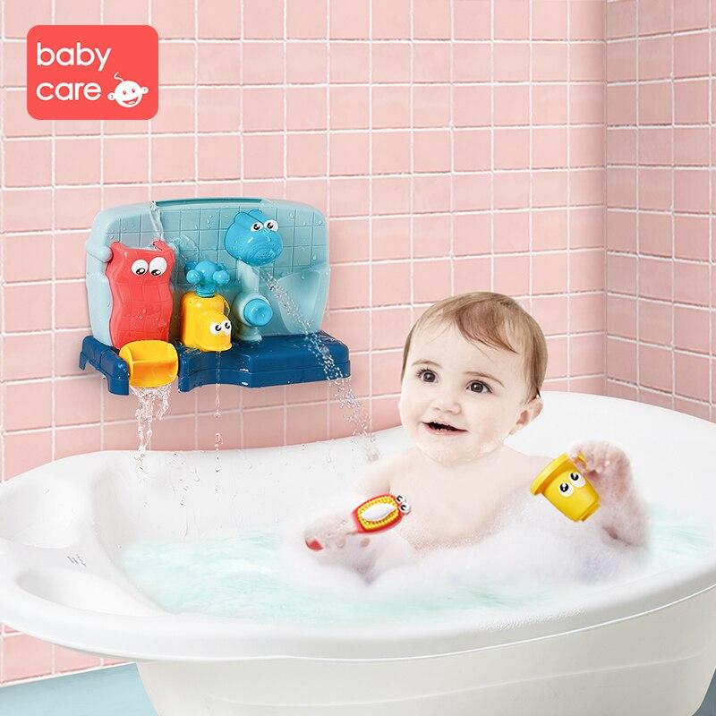 Babycare jouets d'eau de bain 1-3 ans multifonctionnel mignon dinosaure jouet ensemble jouets de bain enfants douche enfants