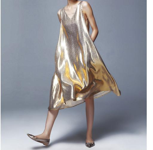 Summer Sleeveless Women Long Dress Loosen Shine Bling Bling Reflective Hologram  Female Summer Long Dresses Silver 1ca098993bdb