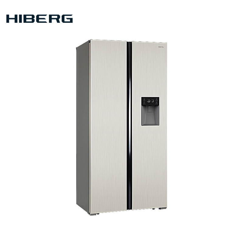 Refrigerator Side-by-Side  HIBERG RFS-484DX NFY цена 2017