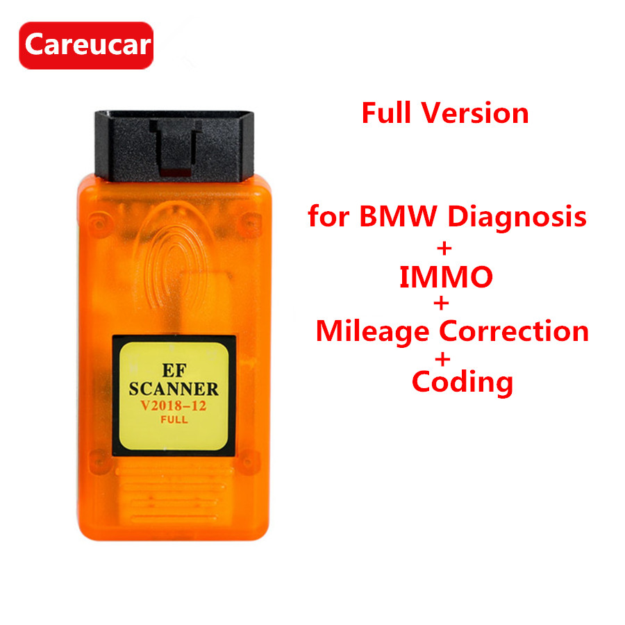 V2018.12 EF Scanner II Full Version for BMW Diagnosis + IMMO + Mileage Correction + Coding-in Auto Key Programmers from Automobiles & Motorcycles on