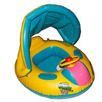 קיץ שמשיה מתכוונן בטיחות תינוק בייבי בריכת לצוף מושב מתנפח סירת טבעת לשחות בריכת ילדי משחקי מים לילדים צעצוע
