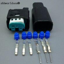 Shhworld Sea 1 комплект 3pin/way Мужской Женский Авто ограничитель разъем датчика для Benz для BMW 1-967642-1