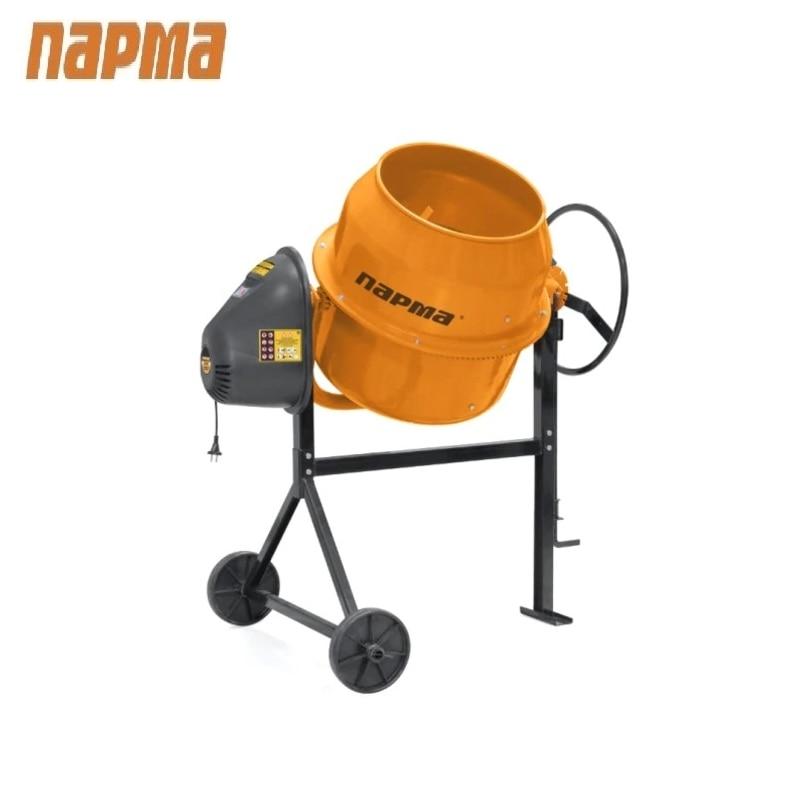 Concrete mixer Parma B-101-E Drum mixer Tilting mixer Transit mixer Knead concrete concrete mixer parma b 220 e