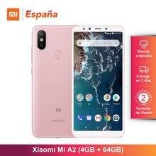 [Глобальная версия для Испании] Xiaomi Mi A2 (Встроенная память de 64 ГБ, Оперативная память de 4 GB, Гран pantalla 5,99 «, Camara двойной 20 + 12 МП) мовиль