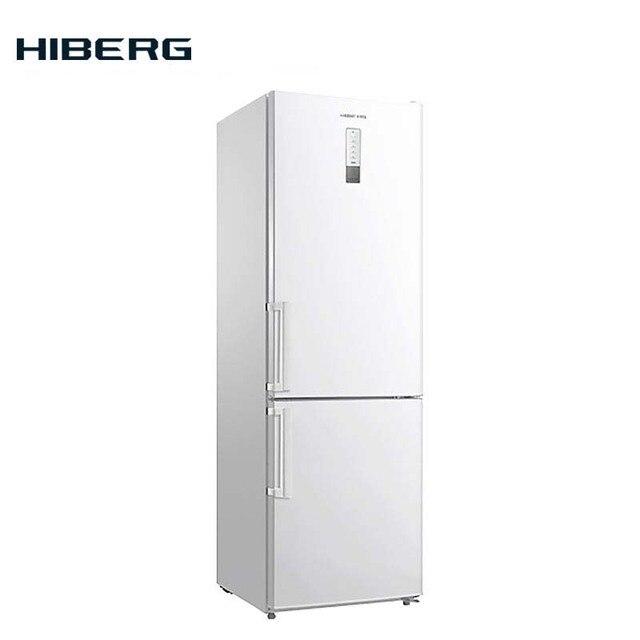 Холодильник NO FROST HIBERG RFC-332D NFW, объем 360 л