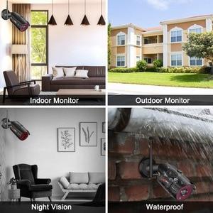 Image 5 - Anrun 3MP 4CH كاميرا مراقبة للمنزل نظام مقاوم للماء في الهواء الطلق للرؤية الليلية واي فاي كاميرا IP مع 15 بوصة رصد 1 تيرا بايت HDD NVR أطقم