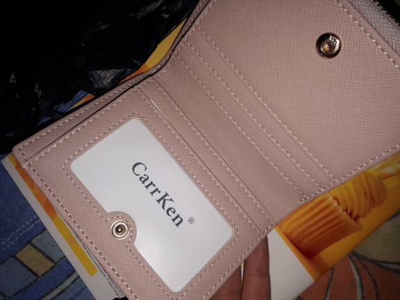 фиолетовый кошелек; Подкладка Материал:: Полиэстер; женщины бумажник;
