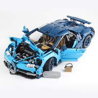 DHL Logoied Technic Series Toys Compatible with 42083 BugattiED Chiron Car Set Building Blocks Bricks Kids Toys Gift