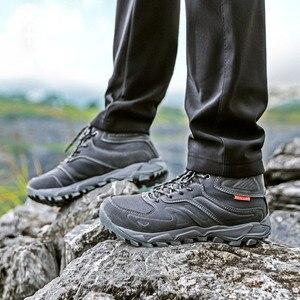 Image 3 - LẠC ĐÀ Nữ Cao Hàng Đầu Đi Bộ Đường Dài Giày Mùa Đông Ngoài Trời Đi Bộ Giày Chạy Bộ Núi Thể Thao Giày Leo Núi Giày