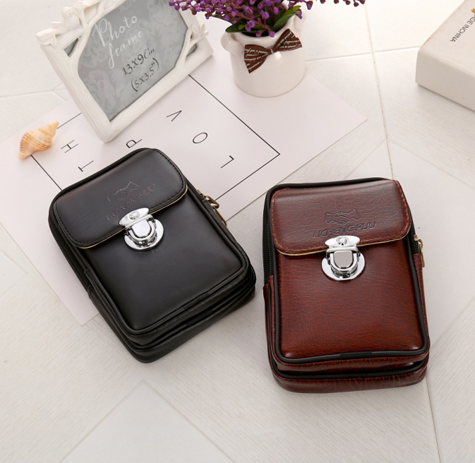 Man Pu Pocket Waist Bags Mini Hip Belt Bum Female Chest Bag Men Women Fanny Packs Pack For Women 39 s Purse Kidney in Waist Packs from Luggage amp Bags