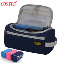 Hot High Quality Travel Cosmetic Bag Necessaire Travel Business Men Wash Bag Organizer Bag Hanging Wash Toiletry Make Up Bag new brand portable necessaire travel women mesh cosmetic bag make up organizer purse bag handbag toiletry bag