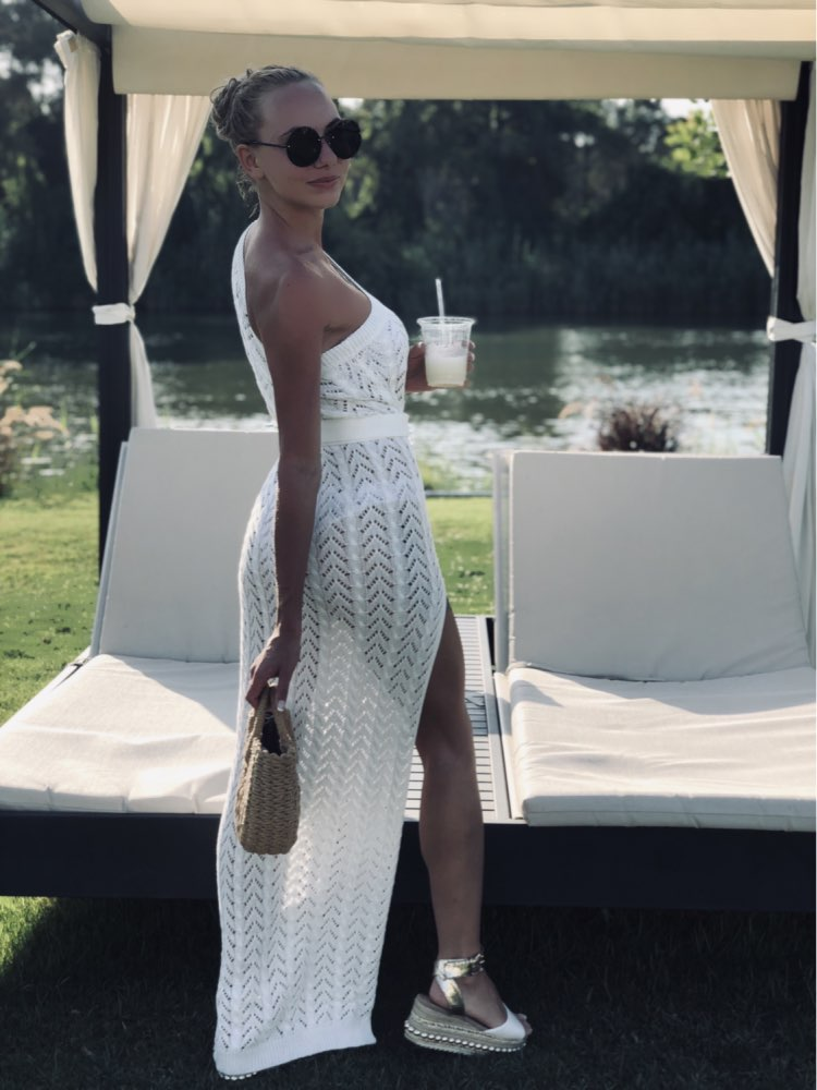 Proteções bikini swimsuit túnica