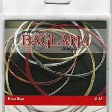 Короткий шейный турецкий баглама саз струны TRS-101