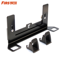 Universal Latch ISOFIX Belt Interfaces Guide Retainer Thicken Steel Car Seat Bracket For Child Safety Seat ISOFIX Groove Free