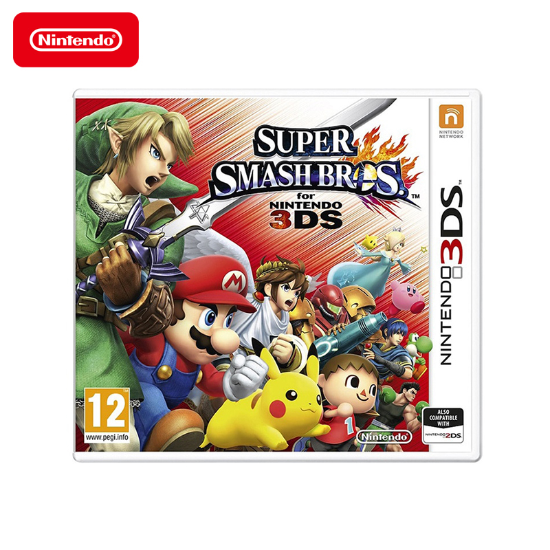Game Deals Nintendo Super Smash Bros for Nintendo 3DS геймпад nintendo switch pro controller