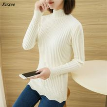 33 qiu dong A turtle neck twist Render unlined upper garment F1862 han edition cultivate morality knitting sweater Xnxee make more winter fashion knitting maternity dress render han edition mom gradient even clothes