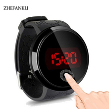 Large Dial Outdoor Men Sports Watches LED Digital Wristwatches Waterproof Alarm Chrono Calendar Fashion Casual Watch