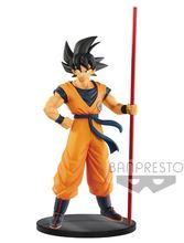 Banpresto Dragon ball Super Figure son goku figurine PVC model Figurals Dolls Brinquedos figuarts