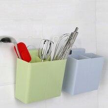 New Useful Kitchen Accessories Organizer Chopstick Self Draining Sink Storage Rack Wall Sticker Kitchen Shelf Home Supplies
