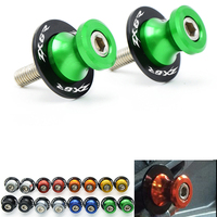 CNC Motorcycle Accessories Motorcycle Swingarm Sliders Spools For Kawasaki Zx6r 2008 Zx 6r Zx 6r 2008