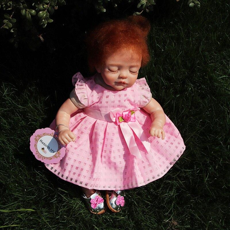 Nueva Moda17 Pulgadas Reborn Muñecas de Silicona de Cuerpo Completo - Muñecas y accesorios - foto 2