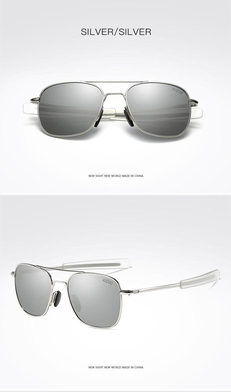 f146dd1ac3 SHENGYANG Metal Polarized Sunglasses Men Women Lasses Mirror Sun ...