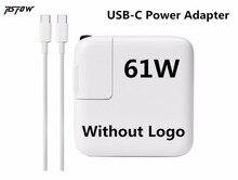 Rsfow 61 Вт USB-C Адаптеры питания Тип-C Зарядное устройство (без логотипа) для MacBook Pro 13 дюймов A1706 A1707 A1708 A1718 (сделано в 2016).