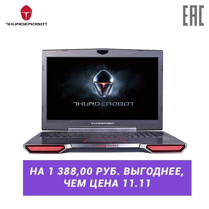 Игровой ноутбук THUNDEROBOT 911GT 17.3″ /IPS /i7-8750H/GTX1060-6G/16G/256GSSD+1TB/144Hz/DOS