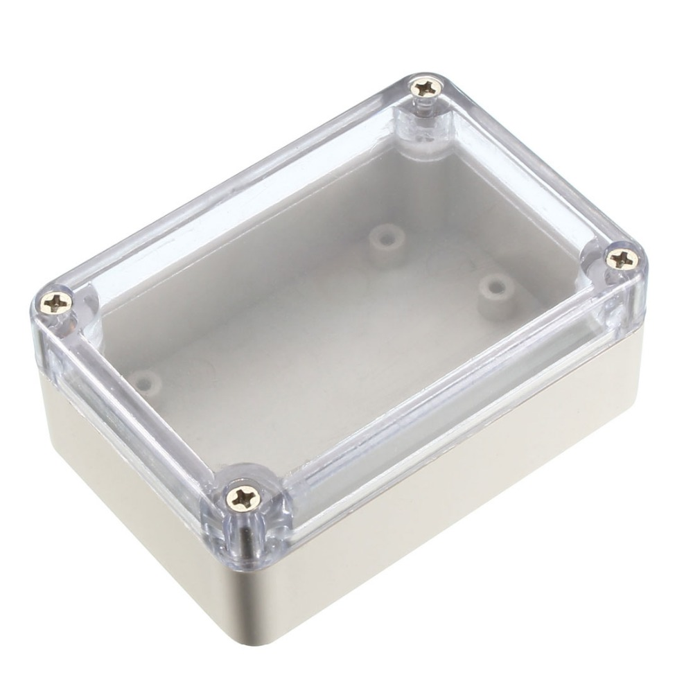 Uxcell 85x58x33mm /100x68x50mm /118x60x32mm Electronic Waterproof IP65 Sealed ABS Plastic DIY Junction Box Enclosure Case Clear