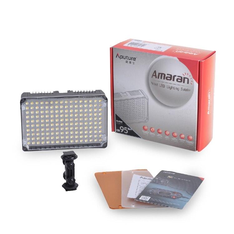 Aputure Amaran AL-H160 CRI95+ Amaran 160 LED Video Light On Camera LED Studio Photo Phone Light For Dsr DV Cameras цена