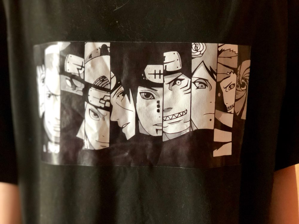 Naruto  Aketsuki Sasuke Tshirt photo review