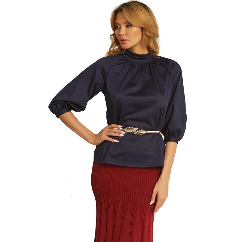 Blouse Vittoria Vicci TmallFS ruffle detail calico blouse