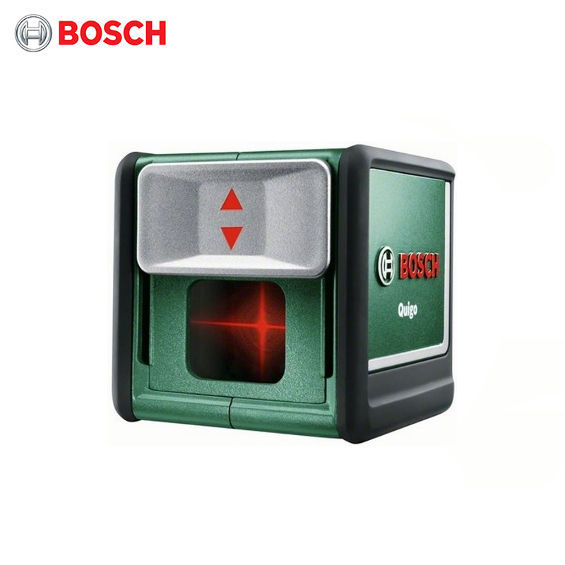 Laser level Bosch Quigo III, without holder free ship by dhl 1pc 300mw toy level diy laser engraving machine working area 30x40cm laser engraver