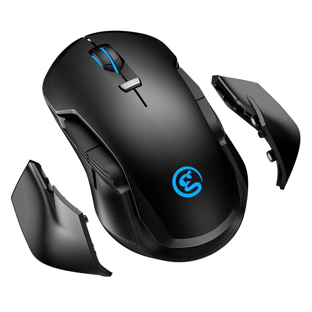 GameSir GM300 Destacável Sem Fio Gaming Mouse 16,000 DPI Cor RGB de Alta Precisão/Velocidade Jogo Do Rato Silencioso Para PC/ macOS