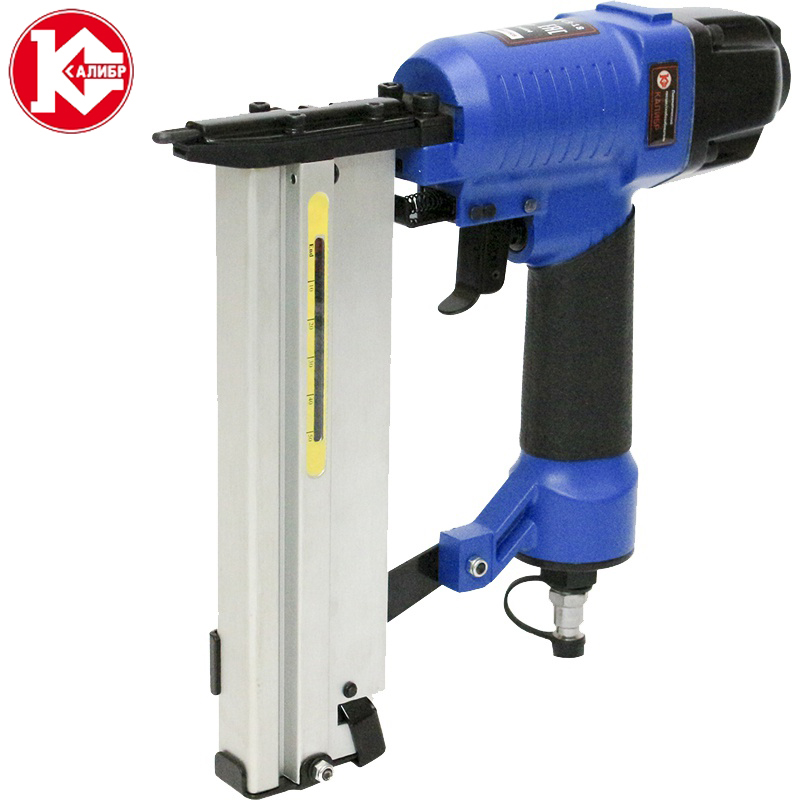 Kalibr PGSZ-18 Pneumatic Nail Gun Air Stapler Gun Tool  Style for Furniture Wood Sofa woodworking nails nail gun matrix 57616
