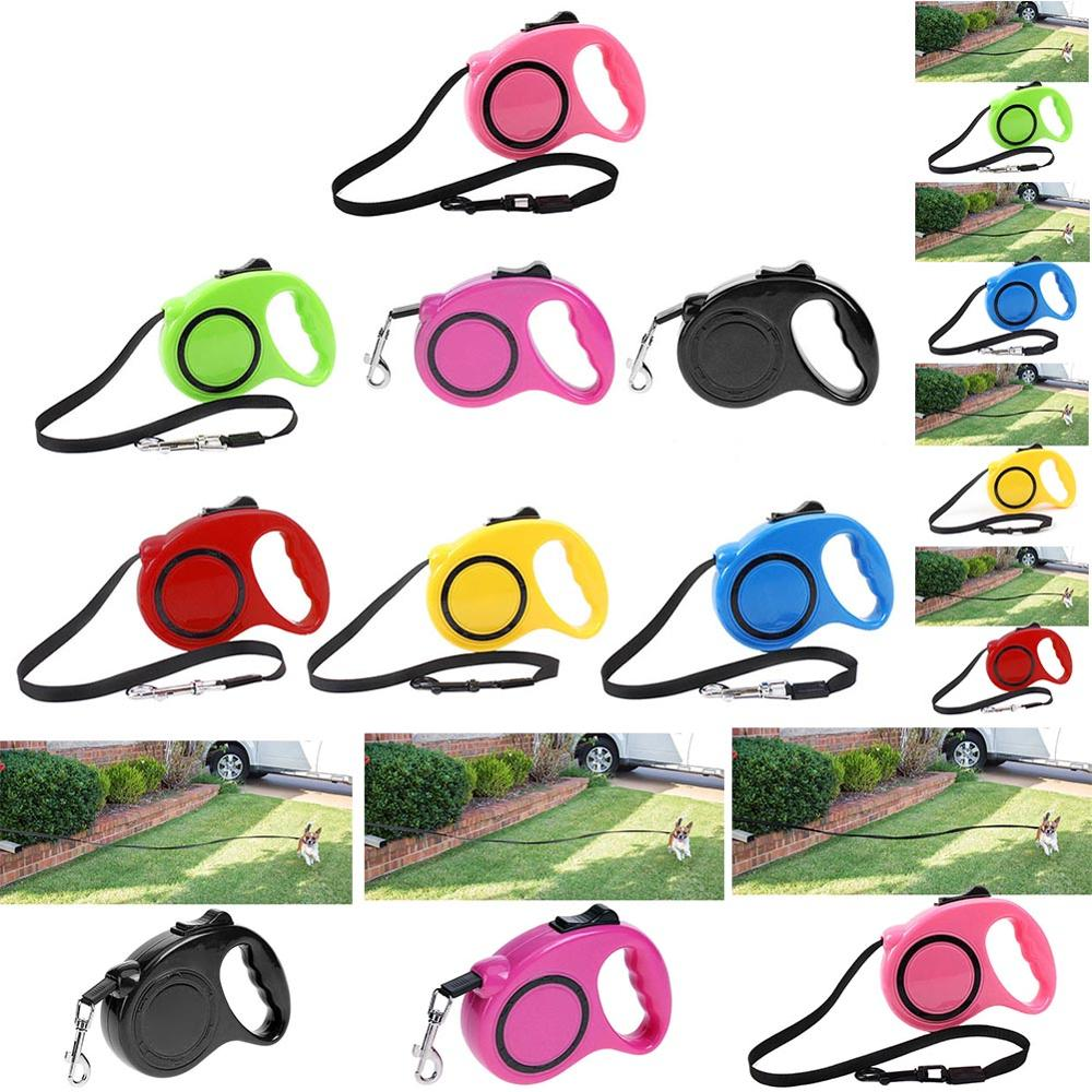 Puppy Leads Extending Pet-Supplies Dog-Leash Pets Dogs Retractable Small Walking Running