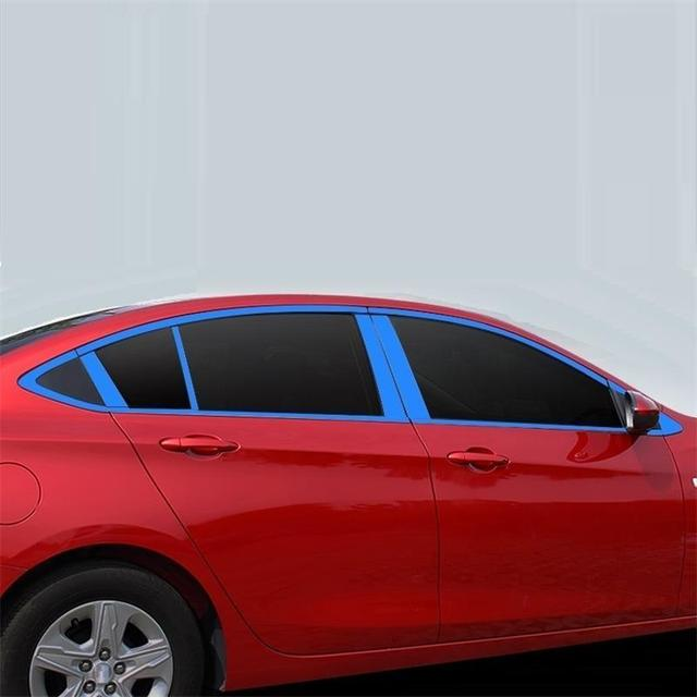 Body Window exterior Excent modified mouldings accessories bright sequins covers car styling protecter 17 FOR Chevrolet Cavalier