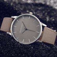 BAOSAILI Top Brand Business Watch Male Leather Quartz Watch For Men Watches Unisex Man Women Wrist Watch Sport Clock Fashion