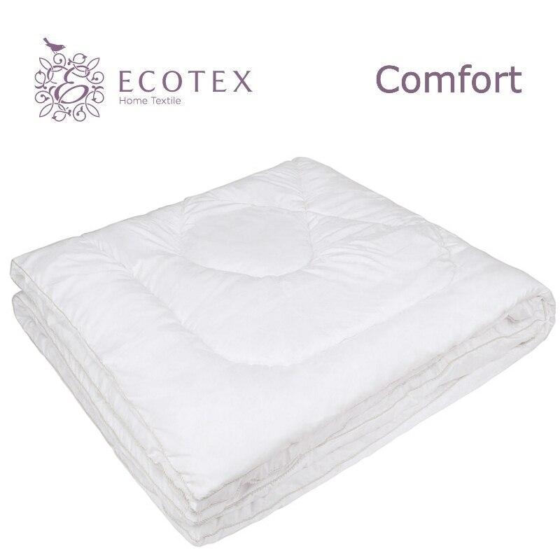 Quilt Fiber light collection Comfort. Production company Ecotex(Russia). plaid print solid quilt