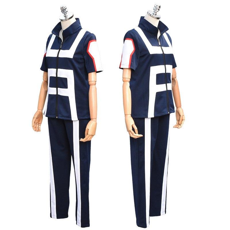 My Hero Academia Jk Anime Sportswear Cosplay Uniforms My Hero Academy Halloween Props Accessory Sports School Set Costume In Anime Costumes From Novelty