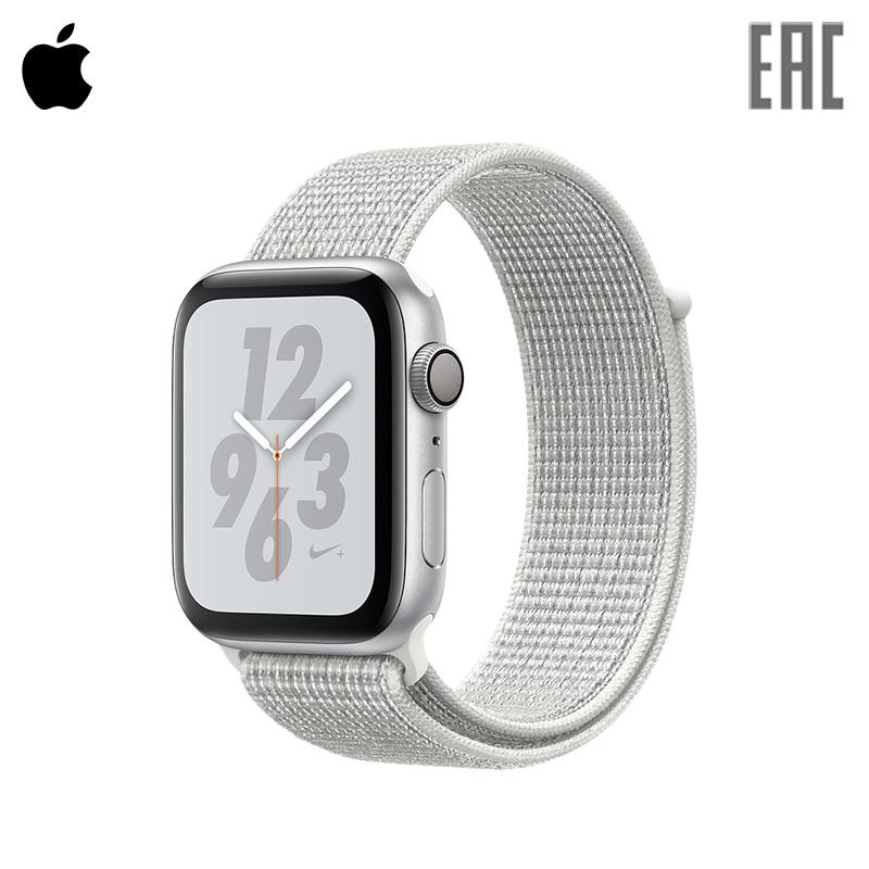 Smart Watch Apple Watch S4, 40mm, Nike + Sport Loop gimto gm246 brand men watch steel luxury gold sport clock quartz chronograph