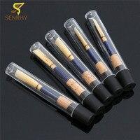 SENRHY 5Pcs Blue Handmade Pro Apprentice Oboe Reeds Soft Cork Reed For C Oboe Case Woodwind