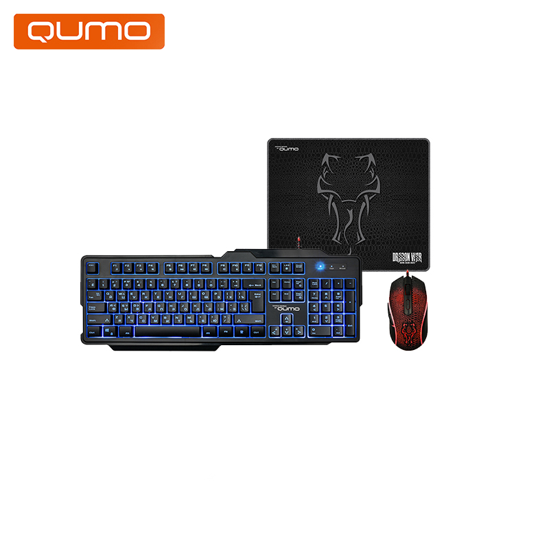 цена Keyboard and mouse Qumo Viper K29/M29