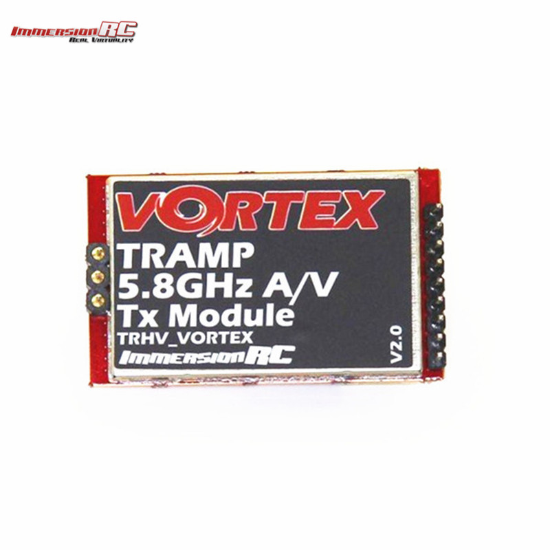 Original ImmersionRC Tramp 5.8GHz A/V TX Module Transmitter For Vortex 250/275/285 RC Drone Quadcopter Spare Parts Accessories new arrival immersionrc raceband 5 8ghz 600mw av transmitter module for fatshark